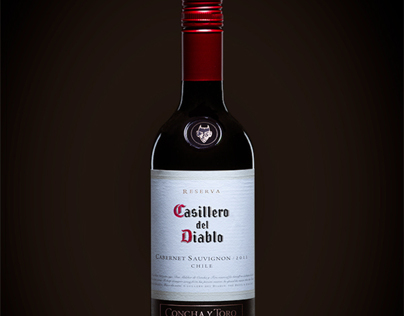 CASILLERO DEL DIABLO WINE BOTTLE