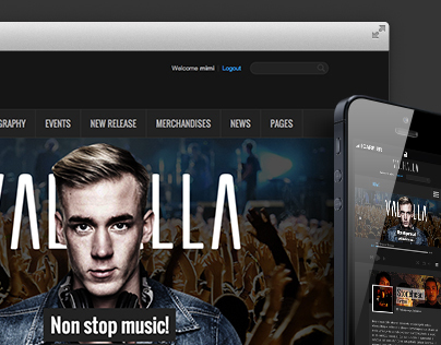 Valhalla Theme (WordPress)