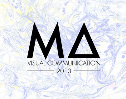 MA Visual Communication Show