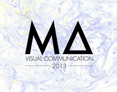 MA Visual Communication Show