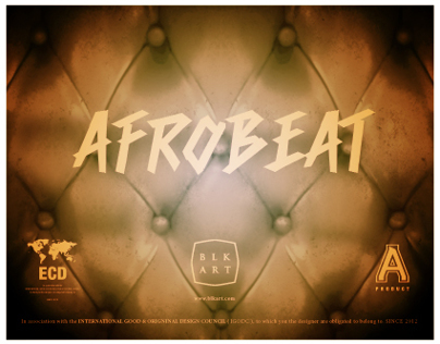 AfroBeat Posters: Highlife + Psychedelik Sounds