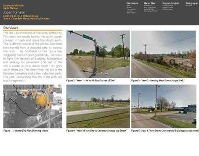 Joplin Tornado Site Research