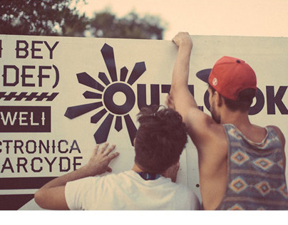 Outlook Festival Typewall