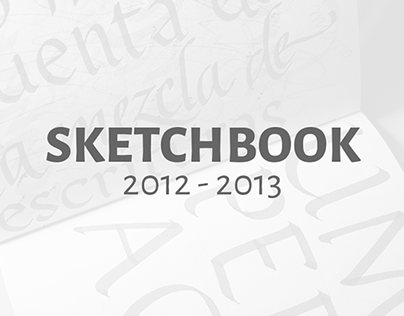 Sketchbook 2012 - 2013