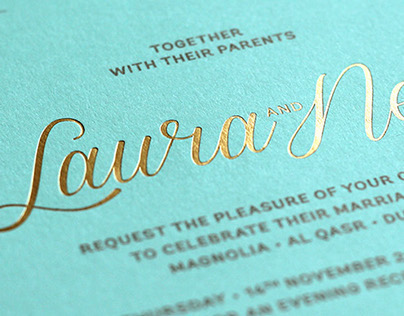 L&N Wedding Invitation