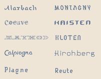 10 days / 10 fonts Part 2