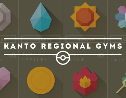 Pokémon Gym Badges