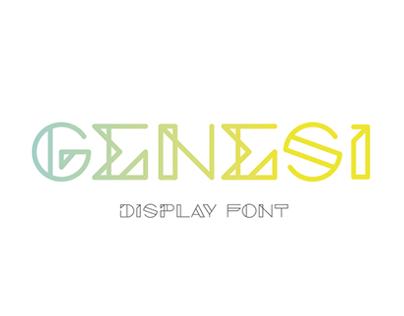 GENESI Typeface
