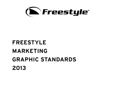 2013 Freestyle Marketing Graphic Standards