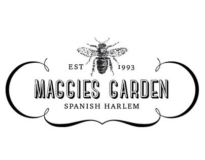 Graphic profile for a community garden.
