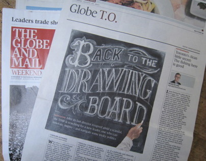 Globe and Mail, Toronto, cover