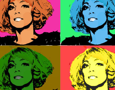 Lady Gaga- Pop Art piece