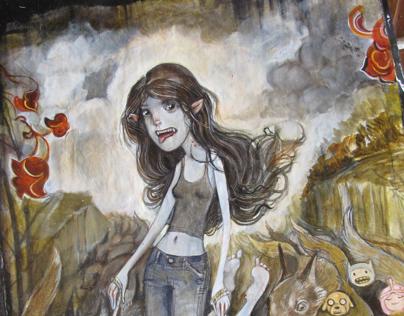 Marceline Painting
