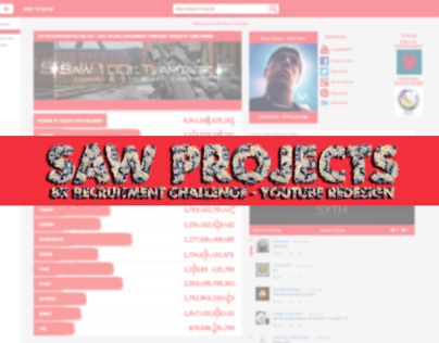 Saw Projects 8k RC Entry : Youtube Redesign