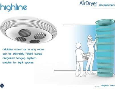 Air Dryer Clothes Dryer Redesign Project - Highline