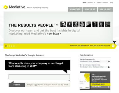 Mediatives Blog - Theresultspeople.com (UX/UI)