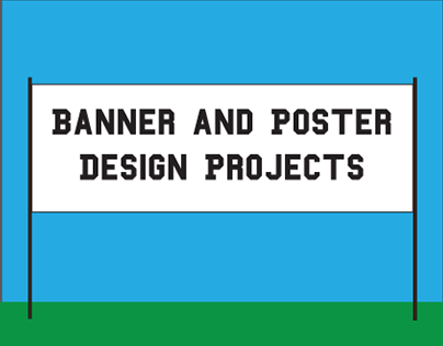 Banner and Poster Design Projects