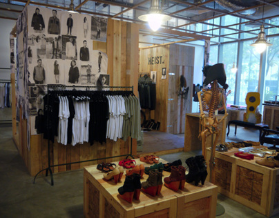 Feist Heist Pop Up Store