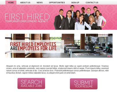 First Hired Temporary Employment Agency