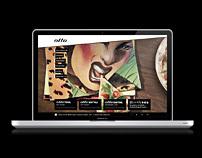 Otto Restaurants - Website design