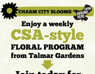 Floral CSA program for WFM Mt. Washington