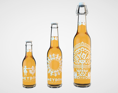 BORDERLAND CIDER - folk design concept
