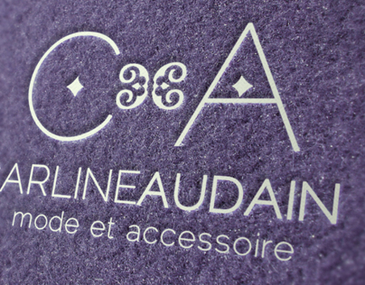 Carline Audain Logo & card
