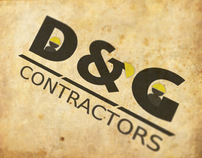 D&G Contractors Logo and Materials