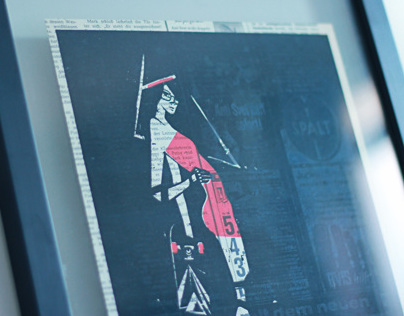 Skater girl | Serigraphy
