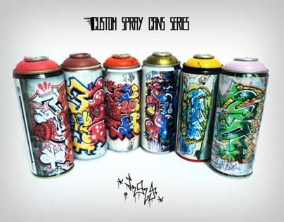 Custom Spray Cans