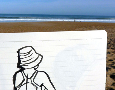 Sketchbook on the beach 2012/13