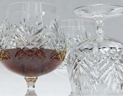 Brandy Glass - 3D Model for Sale - 3D Squirrel