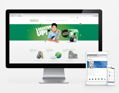 Ecolean website