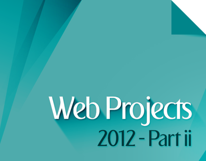 Web Projects 2012 Part II