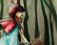 Grimms Fairy Tales: Mock book redesigning project