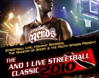 AND1 Legends vs Highway Records All Stars (2010)