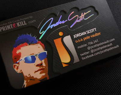 Jordan Scott Layered Business Cards