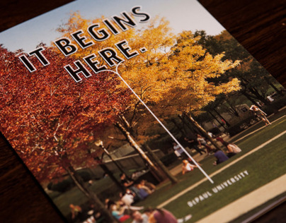 DePaul University Admissions Booklet