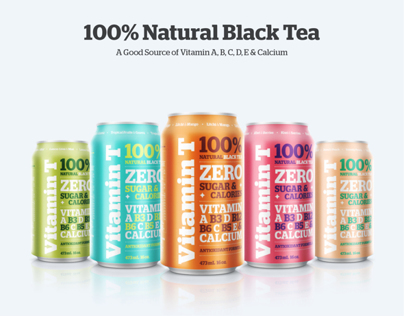 VITAMIN T / 100% NATURAL BLACK TEA