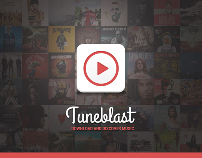 Tuneblast - Vk music client app for android