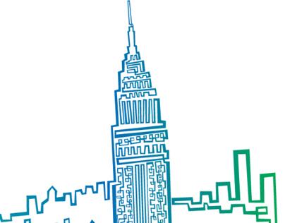 One Line Illustration NYC!!!