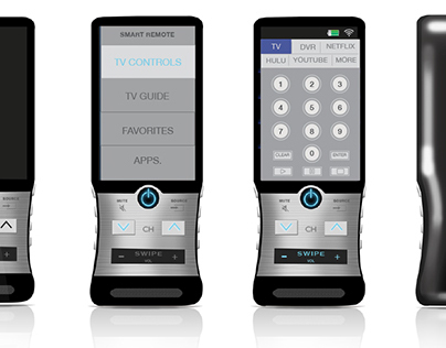 Universal Touchscreen Remote
