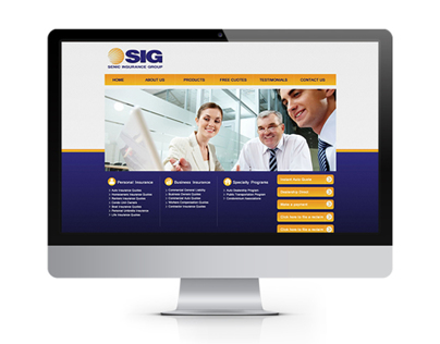 SENIC INSURE GROUP - Web Redesign