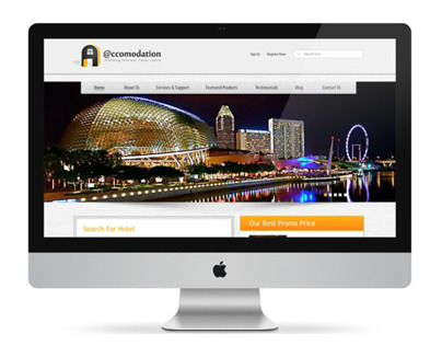 Accomodation Website