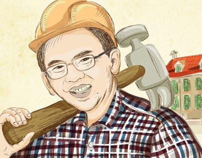 Indonesia Editorial Illustration
