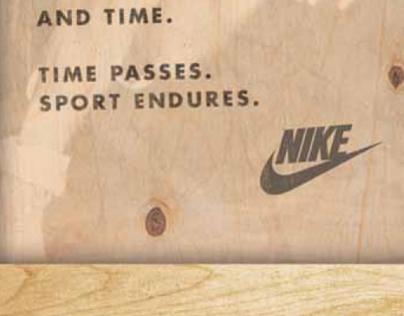 Nike Vault Counter Card