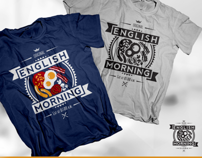 English Morning T-Shirt