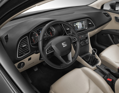 NEW SEAT LEON ST - interiors