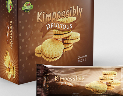 Package Designing for  Kimpossibly Delicious.