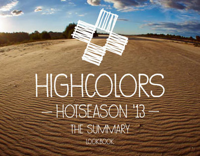 HIGH COLORS  hot season 2013  collection